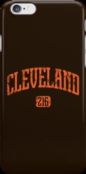 Cleveland 216 (Orange Print) by smashtransit