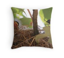 Breakfast In Bed Throw Pillow