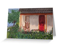 The German Cottage  Greeting Card