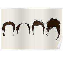 Seinfeld Hair Poster