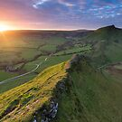 Parkhouse Hill Sunset by James Grant