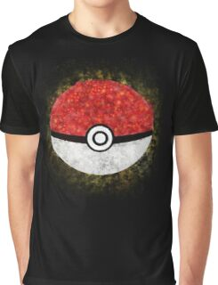 Electric Type Pokeball Graphic T-Shirt
