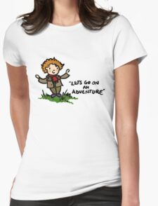 Bilbo Baggins Womens Fitted T-Shirt