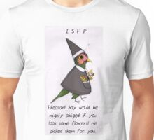 MBTI GHOSTS AND GHOULS- ISFP CUTE LITTLE PHEASANT BOY Unisex T-Shirt