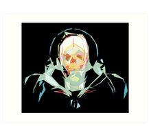 Lost in Space (black) Art Print