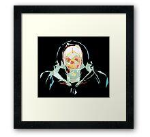 Lost in Space (black) Framed Print