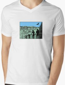 Family in nature with eagle T-Shirt