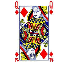 Smartphone Case - Queen of Diamonds by Mark Podger