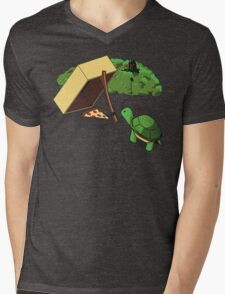 Turtle Trap Mens V-Neck T-Shirt