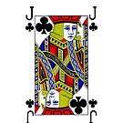 Smartphone Case - Jack of Clubs by Mark Podger