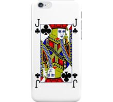 Smartphone Case - Jack of Clubs iPhone Case/Skin