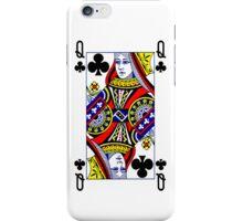 Smartphone Case - Queen of Clubs iPhone Case/Skin