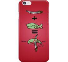 Green Sword Fish iPhone Case/Skin