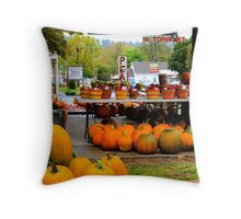 Harvest Of Plenty Throw Pillow