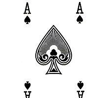 Smartphone Case - Ace of Spades by Mark Podger