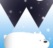 Ice Bear & Snow - We Bare Bears Sticker