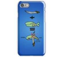 Green Sword Fish 2 iPhone Case/Skin