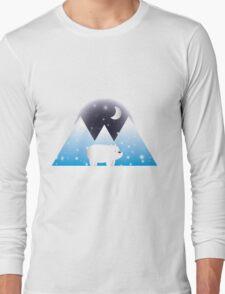 Ice Bear & Snow - We Bare Bears Long Sleeve T-Shirt