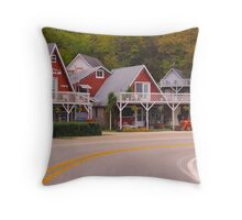 Little Switzerland Of The Ozarks. Throw Pillow