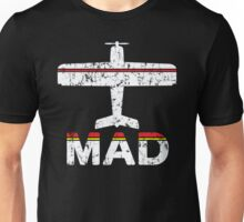 Fly Madrid MAD Airport Unisex T-Shirt