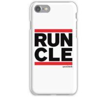 Run Cleveland (v1) iPhone Case/Skin