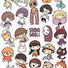 Studio Ghibli - Chibi Characters Collaboration [VERTICAL] by Smilie Face