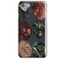 Zombie Illustration Assignment iPhone Case/Skin