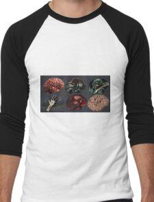 Zombie Illustration Assignment Men's Baseball ¾ T-Shirt