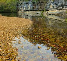 Buffalo National River,  Pruitt Arkansas, USA. by NatureGreeting Cards ©ccwri