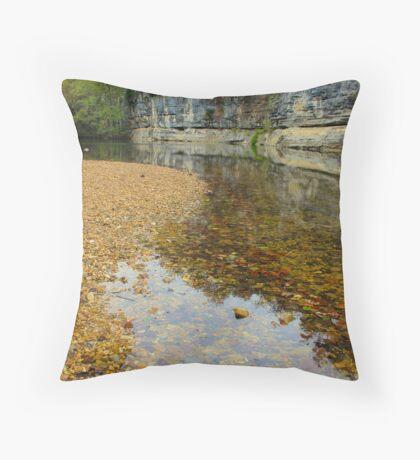 Buffalo National River,  Pruitt Arkansas, USA. Throw Pillow