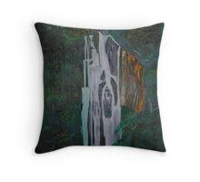 Hidden Waterfalls Throw Pillow