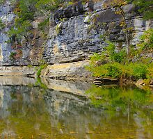 Buffalo National River,  Pruitt  Arkansas by NatureGreeting Cards ©ccwri