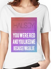 Halsey colors Women's Relaxed Fit T-Shirt