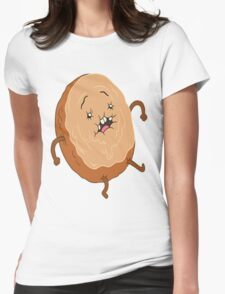 Cinnamon Bun  Womens Fitted T-Shirt