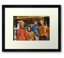 Star Trek Barbie and Ken Framed Print