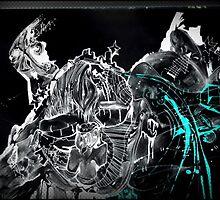 GalaxyX.. Soo Abstract !! XD   by Daniel Brummitt
