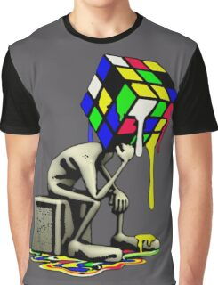 Puzzled Graphic T-Shirt