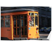 SF Trolley Poster