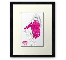 Tiffany Hwang Framed Print