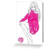 Tiffany Hwang Greeting Card