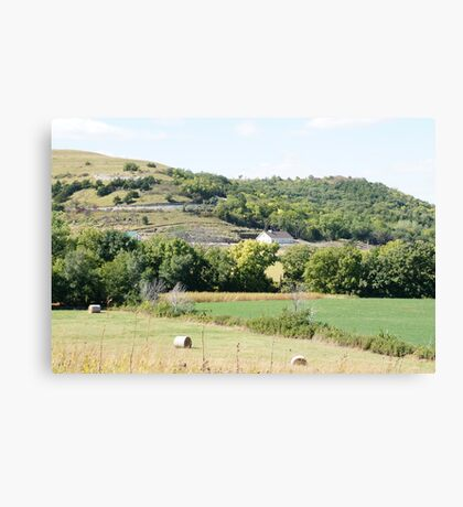 Flint Hills Canvas Print