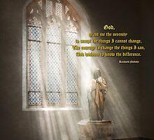 Inspirational - Heavenly Father - Senrenity Prayer  by Mike  Savad