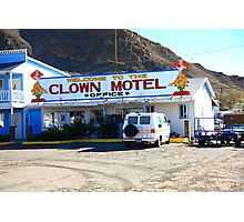 Tonopah, Nevada - Clown Motel Photographic Print