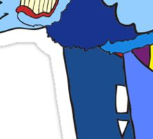 Blue Meanie  Sticker