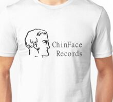 ChinFace Records (black) Unisex T-Shirt