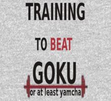 training to beat goku by DBZmemes