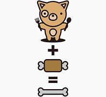 Dog + Meat = Bone Unisex T-Shirt