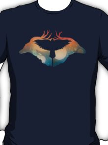 Night sky over Savanna T-Shirt
