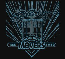 Blue Box Movers One Piece - Short Sleeve