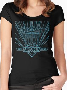 Blue Box Movers Women's Fitted Scoop T-Shirt